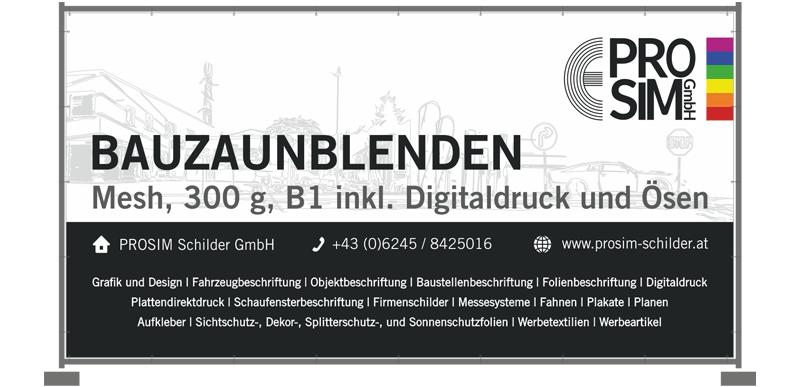 Prosim Werbetechnik - Baustellenbeschriftung